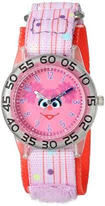 EWatchFactory Girl's 'Sesame Street' Quartz Plastic and Nylon Watch