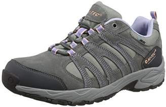 Hi-Tec Women's Alto II Waterproof Low Rise Hiking Shoes - Grey (Steel/Charcoal/Lustre 052), 5 UK (38 EU)