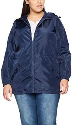 Evans Women's Navy Raincoat