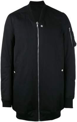 Rick Owens long line bomber jacket