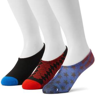 Converse Men's 3-pack Made For Chucks Americana Liner Socks