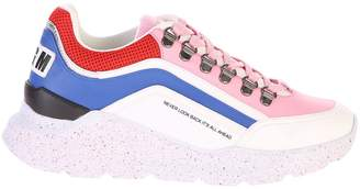 MSGM Multicolored Lace Up Sneakers
