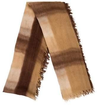eskandar Cashmere and Silk-Blend Tie-Dye Scarf