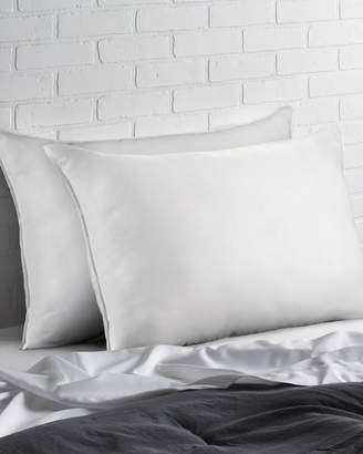 Down Supply Set Of 2 Microfiber Signature Pillows