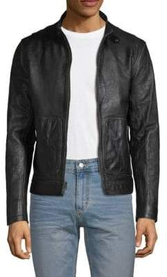 Frye Textured Leather Jacket
