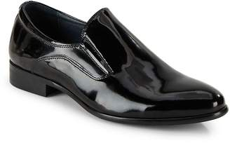 Hart Schaffner Marx Men's Leather Almond Toe Loafers