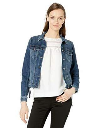 Vince Camuto Women's Lace Up Side Denim Jacket