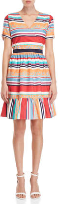 Yumi Vacation Stripe Dress