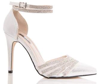 e4fb867febd2 Silver Pointed Toe Court Shoes - ShopStyle UK