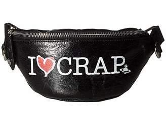 Vivienne Westwood I Love Crap Mini Bum Bag