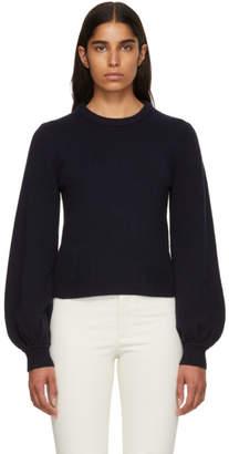Chloé Navy Cashmere Sweater