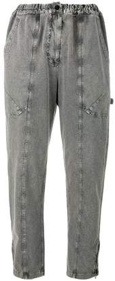 Stella McCartney faded cropped trousers