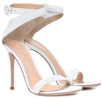 Gianvito Rossi Exclusive to mytheresa.com – Cross strap leather sandals