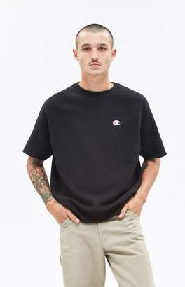 Champion Reverse Wear Short Sleeve Crew neck Sweatshirt