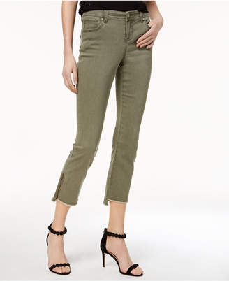 INC International Concepts I.n.c. Curvy-Fit Step-Hem Skinny Jeans, Created for Macy's