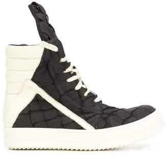 Rick Owens 'Geobasket' hi-top sneakers