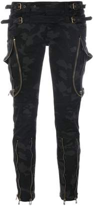 Faith Connexion camouflage skinny trousers
