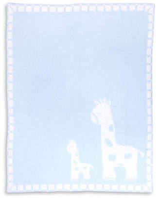 Living Textiles THE Baby Giraffes Cozy Blanket