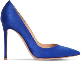 Gianvito Rossi 100mm Gianvito Satin Pumps