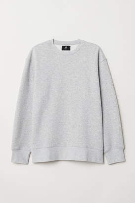 H&M Sweatshirt Loose fit - Gray