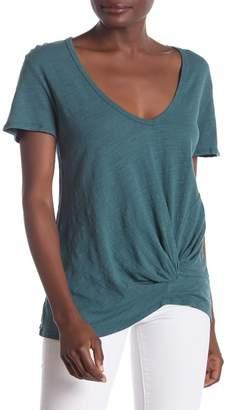 H By Bordeaux Tango Twist T-Shirt