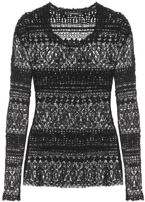 Isabel Marant Yulia cotton-blend sweater