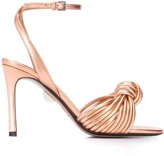 Samuele Failli metallic sandals