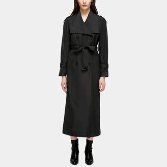 Mackage Enrika Windproof Belted Rain Trench Coat