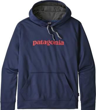 Patagonia Text Logo Polycycle Hoodie - Men's