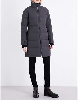 Canada Goose Ladies Graphite Modern Heatherton Quilted Shell Coat