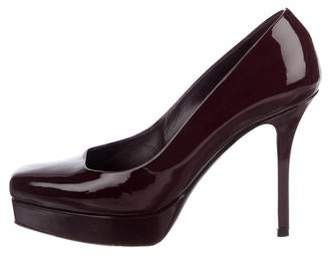 Gucci Patent Leather Platform Pumps