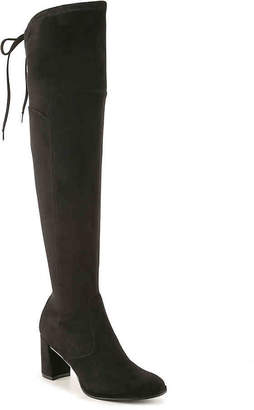 65a02b219bc5 Marc Fisher Black Suede Women s Boots - ShopStyle