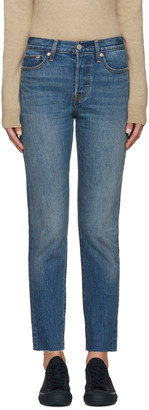 Levi's Blue Wedgie Fit Jeans $85 thestylecure.com