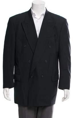 Pierre Balmain Double-Breasted Wool Blazer