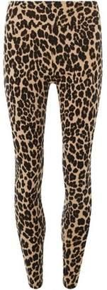 Dorothy Perkins Womens Brown Leopard Print Leggings