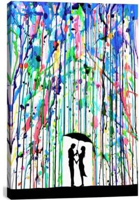iCanvas 'Pour Deux - Marc Allante' Giclee Print Canvas Art