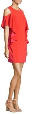 Trina Turk Lambada Cold-Shoulder Dress