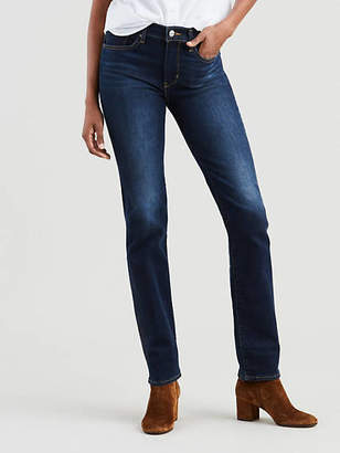 Levi's 724 High Rise Straight Jeans