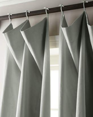 """Parker 6009 Each 132""""L Tie-Top Curtain"""