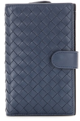 Bottega Veneta Bottega Veneta Continental Intrecciato Leather Wallet