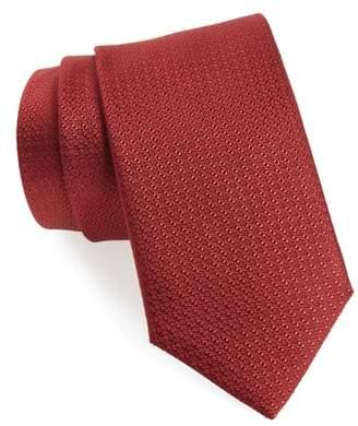 8cm Textured-silk Tie Canali RGKFF6FK