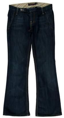 Raven Low-Rise Wide-Leg Jeans