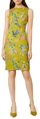Hobbs London Moira Floral Print Sheath Dress