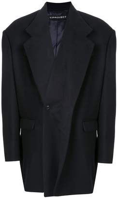 Y/Project asymmetric blazer