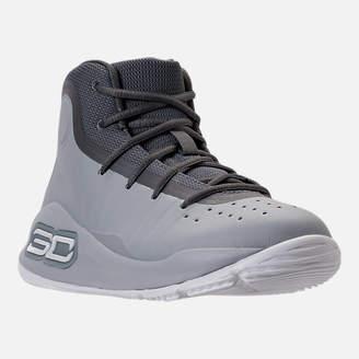 Under Armour Boys' Preschool Curry 4 Mid Basketball Shoes