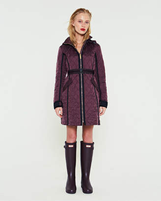 Hunter women's refined quilted trench coat