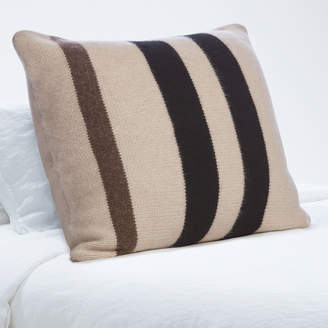 James Perse CHUNKY CASHMERE STRIPED SHAM