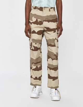Stussy Camo Ripstop Cargo Pant in Tan