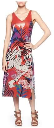 Magaschoni Sleeveless Midi Dress