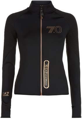 Giorgio Armani Ea7 Metallic Track Jacket